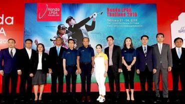 「ホンダ LPGA タイランド 2019」開催